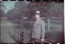 131 Vakantiefoto van de familie Boske in België. Georges de Grave.