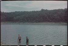 148 Vakantiefoto van de familie Boske. Rechts: Karl Boske.