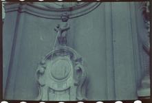 154 Manneke Pis in Brussel. Vakantiefoto van de familie Boske.