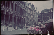 156 Vakantiefoto van de familie Boske in Brussel.