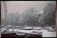 58 Scheepmakershaven in de sneeuw.