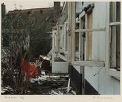 1365 Woningen in het Witte Dorp zijn vervallen en verlaten. Uit een serie over de sloop van het Witte Dorp.