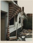 1366 Woningen in het Witte Dorp zijn vervallen en verlaten. Uit een serie over de sloop van het Witte Dorp.