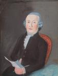 P-020950-TM-P-020952 Portretten van J. Lambert Hzn, burgemeester van Kralingen, zijn vrouw Johanna Schinkel en zijn ...