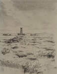 XXVIII-15-01-1 De Beer met resten van Duitse verdedigingswerken.