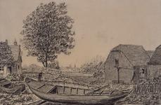 XXXI-961-3 Boerderij op de plaats van de vroegere boerderij Huis te Riviere.