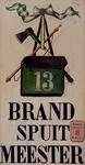 XXXIII-107-01-2 Ontwerptekening voor bordjes aan woningen van brandspuitmeesters.