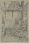 XXV-793-00-01 Binnenplaats in de Zwijnenstraat, tussen de Leuvehaven en de Schiedamsedijk.