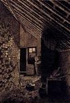 XXXI-582-02-1 Het interieur van een boerenwoning aan de Dorpsdijk, te Rhoon dicht bij de korenmolen en tegenover de ...