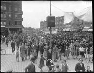 2002-1578 De Beijerlandselaan met links de Hilledijk waar een door de winkeliersvereniging georganiseerde ...
