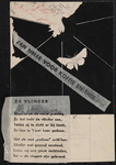 944-02_89_57 De vlinder : gedicht. Op de afbeelding staat diagonaal de tekst: Van Nelle voor koffie en thee.