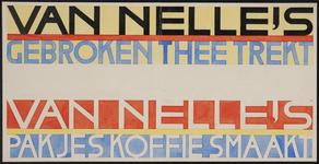 944-02_89_75 Reclame voor thee en koffie van Van Nelle.