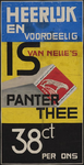 944-02_93_1 Reclame voor Van Nelle's Panter thee.