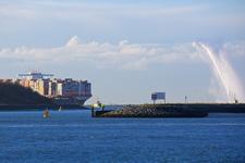 MR-24 MCS Oscar Containerschip in het Yangtzekanaal