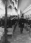 1972-713 NSB-bijeenkomst in de Rivièrahal van de Diergaarde Blijdorp.