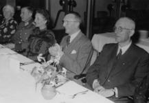 1972-766 Tijdens een bijeenkomst van de NSB in het Beurscafé.