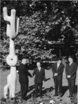 XXXIII-1250-21-06 Duitse dag tijdens de Internationale Tuinbouwtentoonstelling Floriade, De Duitse consul-generaal dr. ...