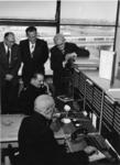 XXXIII-1252 In het Roteb-gebouw aan het Kleinpolderplein wordt de nieuwe Brandweer-alarmcentrale in gebruik genomen. In ...