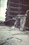 1988-1267 De Bijenkorf aan de Schiedamse Vest na het bombardement van 14 mei 1940.