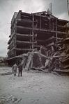 1988-1268 De Bijenkorf aan de Schiedamse Vest na het bombardement van 14 mei 1940.