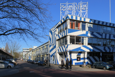 32 ZOHO bedrijfsverzamelgebouw aan de Zomerhofstraat, hoek Vijverhofstraat.