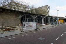 450 De transformatie van de Hofbogen. De Hofbogen worden omgebouwd tot nieuwe winkelpanden. Ter hoogte van de ...