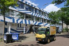 479 Zomerhofstraat 71. Het Gebouw, een bedrijfsverzamelgebouw voor kunstenaars en creatieve ondernemers in het ZOHO kwartier.