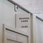 233 Rotterdam tijdens de Coronapandemie. Behandelkamer in het noodziekenhuis bij Ahoy. Dit noodziekenhuis is speciaal ...