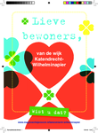 278 Rotterdam tijdens de Coronapandemie. Digitale flyerkaart Katendrecht - Wilhelminapier. Kaart die wij met allerlei ...